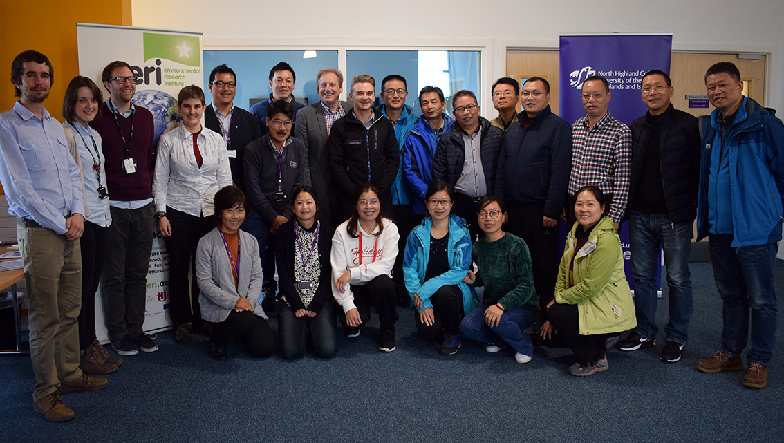 Scientists visit far north for leading research collaboration opportunities