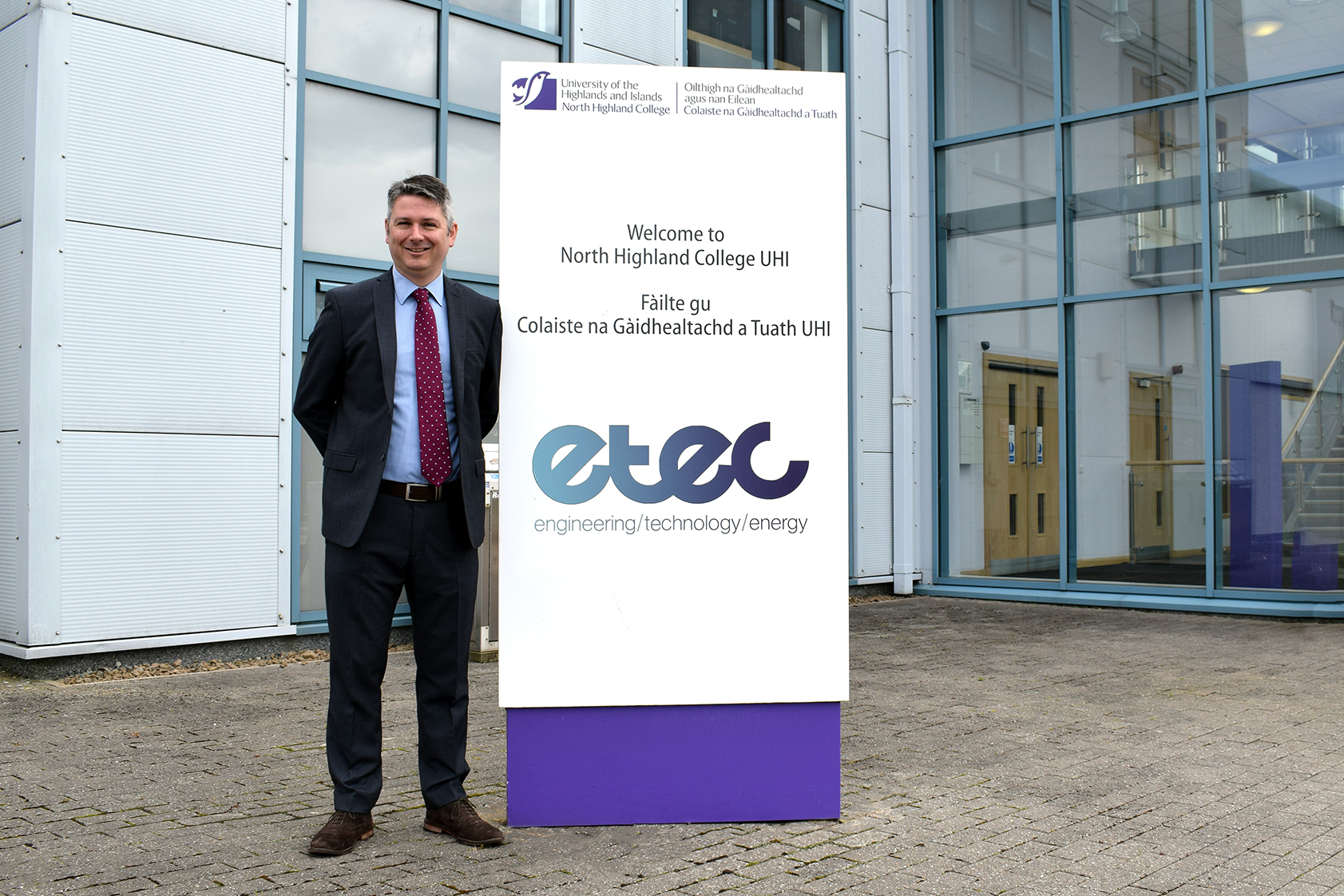 North Highland College UHI appoints new Engineering Technology and Energy Centre Director