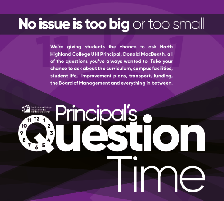 Principal's Question Time